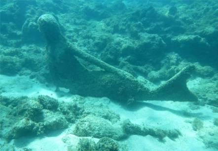 Grenada UWSkulpturen Meerjungfrau