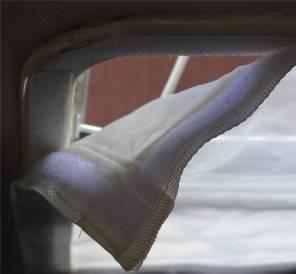Moskitonetz Mittelluk Klettverschluss