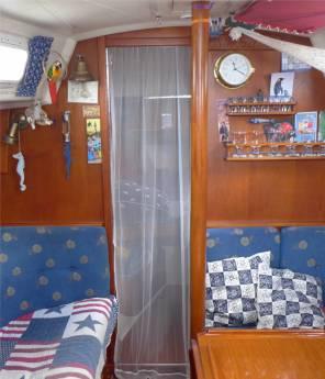 Moskitonetz Vorschiff