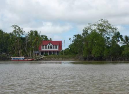 Suriname Frederiksdorp Plantagenhaus