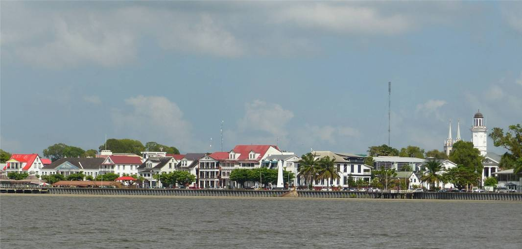 Suriname Paramaribo Waterfront