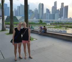 Bei Lisa in Singapur