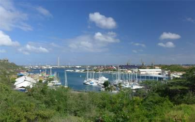 Curacao Blick auf die Marina