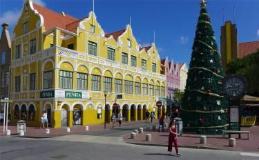 Curacao mit Weihnachtsbaum