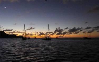 Bequia Sonnenuntergang
