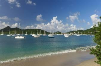 Carriacou Ankerplatz Tyrell Bay