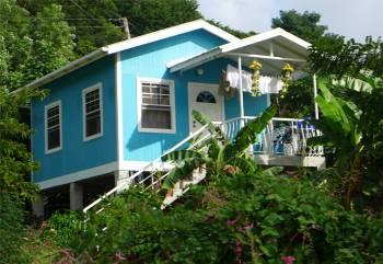 Carriacou kleine Häuser in bester Lage