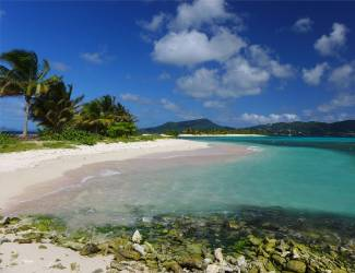 Carriacou Sady Island Traumstrand