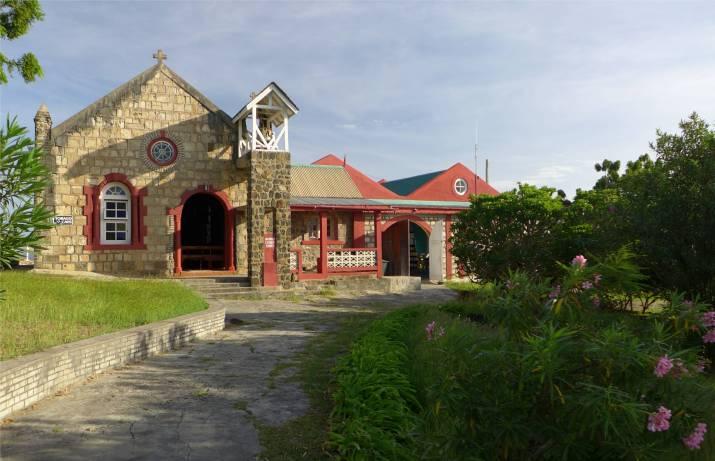 Mayreau Kirche