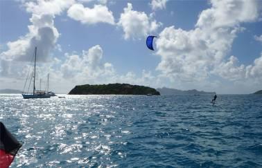 Tobago Cays Kiter