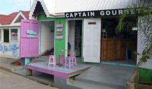 Union Island ansprechende Farbgestaltung