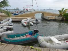 Union Island Dingi Dock in Clifton