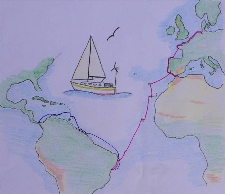 karte atlantik bis panama