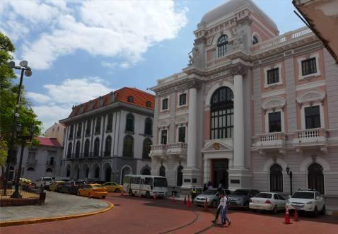 Panama City Altstadt frisch renoviert