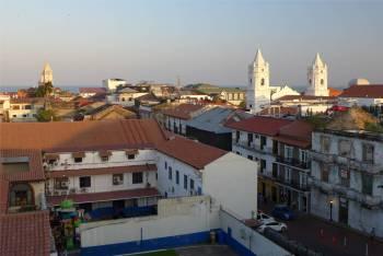 Panama City Blick auf die Altstadt