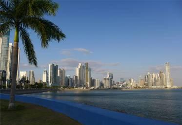 Panama City der moderne Teil