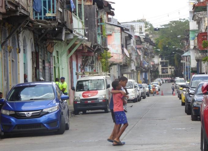 Panama Altstadt hier gibt es Renovierungsbedarf