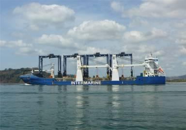 Panama Balboa interessante Schiffe
