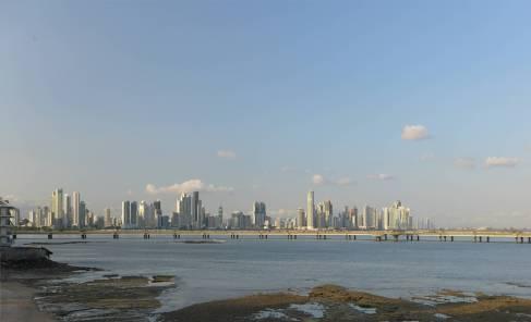 Panama die modere Haelfte der Stadt