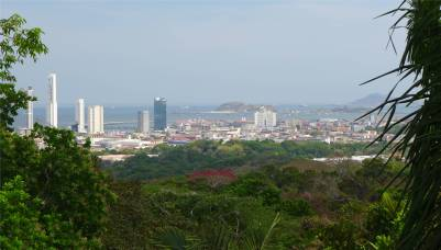 Panama Metropolitano Aussicht auf Panama