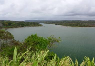 Panama San Lorenzo Einfahrt in den Rio Chagres