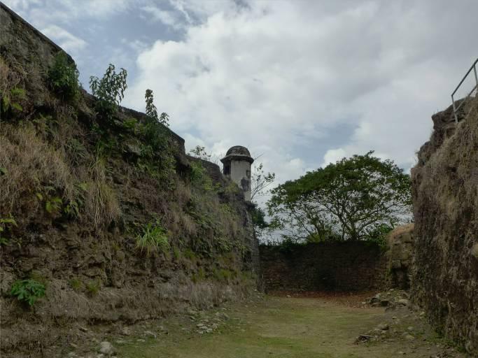 Panama San Lorenzo mit Burggraben
