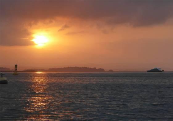 Panamakanal Sonnenaufgang Gatunsee