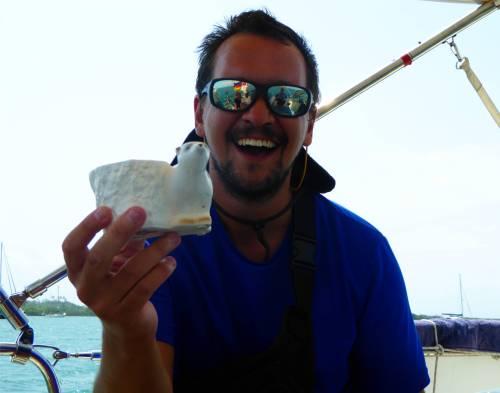 Panamakanal Thomas und der Eisbaer