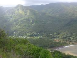 FP Nuku Hiva Blick auf Taipivai