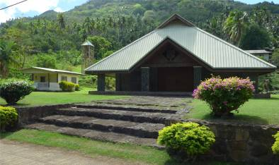 FP Nuku Hiva Taipivai Dorfkirche