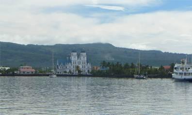 Passage nach Samoa Ankunft in Apia