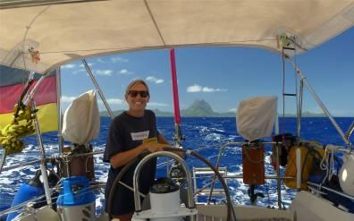 Passage nach Samoa Bora achteraus