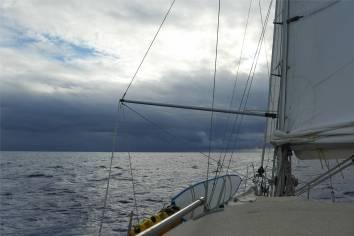 Passage nach Samoa das sieht ja duester aus