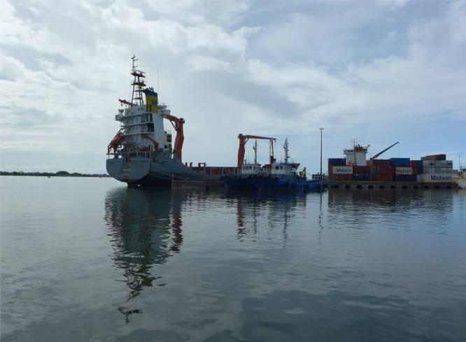 Passage nach Samoa der neue Nachbar