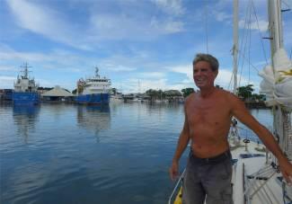 Passage nach Samoa hier muss irgendwo die Marina sein