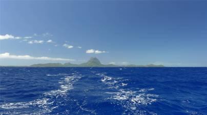 Passage nach Samoa tschuess Bora