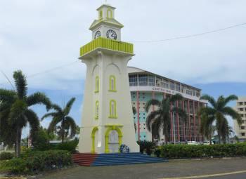 Samoa Apia der Uhrenturm