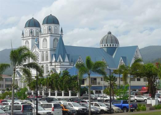 Samoa Apia die Kathedrale