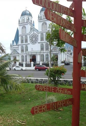 Samoa Apia ganz schoen weit nach Berlin