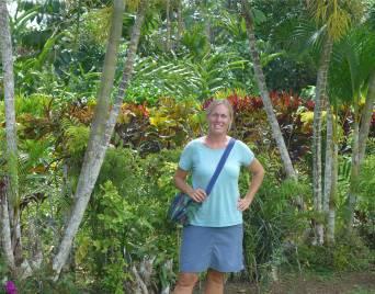 Samoa Apia Inga immer aufd er Suche nach Schatten