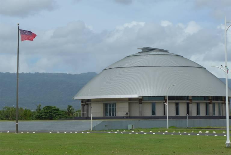 Samoa Apia kein Ufo sondern das neue Parlament
