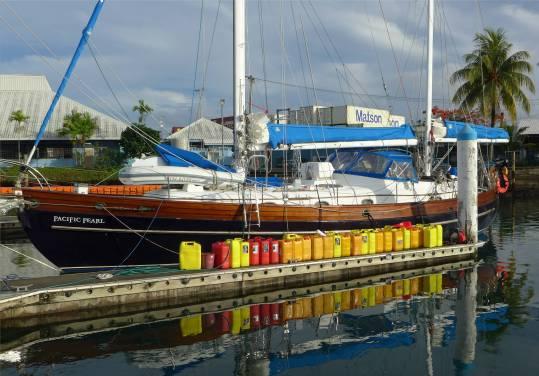 Samoa Apia segeln oder motoren das ist hier die Frage