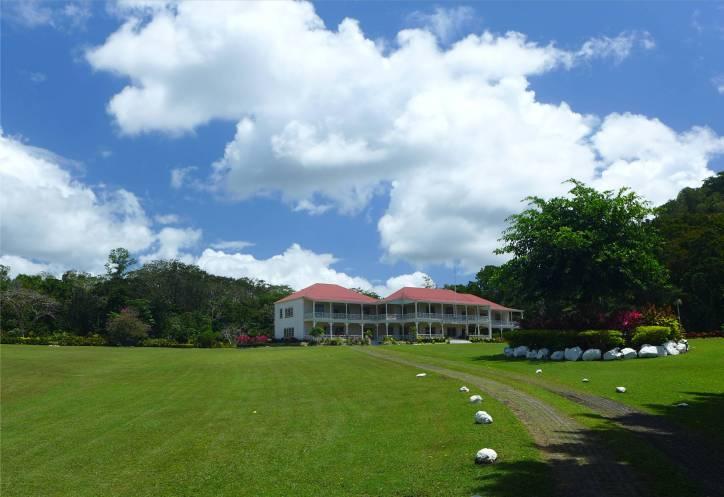 Samoa Apia Villa Vailima nicht gerade bescheiden