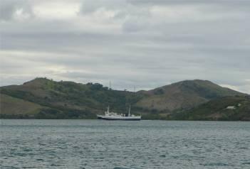 Fiji eine knuddelige Faehre