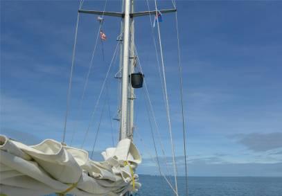 Fiji fast ueberall Internet via Mobilfunk zur Not muss der Hotspot in den Mast