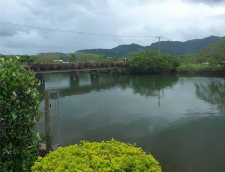 Fiji Labasa der Zuckerrohrzug