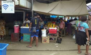 Fiji Labasa hier gibts Wifi
