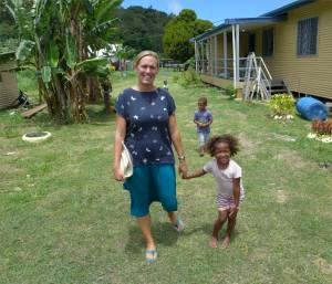 Fiji Makogai Emma zeigt uns das Dorf