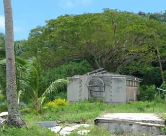 Fiji Makogai Ruine