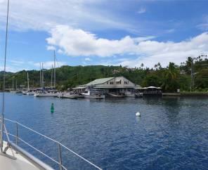 Fiji Savusavu Ankunft Copra Shed Marina